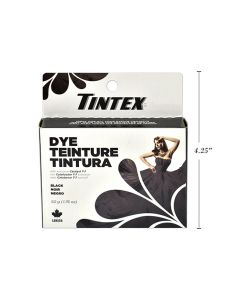 Tintex Fabric Dye - 50gr ~ Black