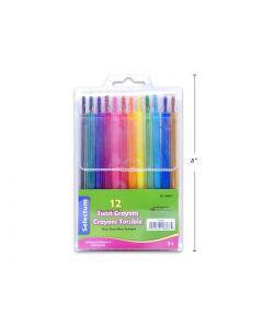 Selectum Twist Crayons ~ 12 per pack