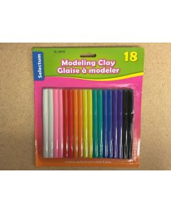 Selectum Modelling Clay ~ 18 colors
