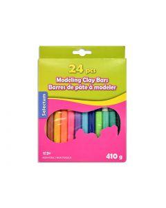 Selectum Modelling Clay Bars - 410grams ~ 24 per pack