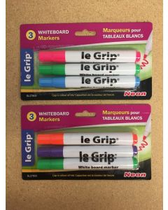 Whiteboard {Dry Erase} Neon Marker ~ 3 per pack