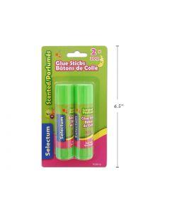 Selectum Fruit Scented Glue Sticks ~ 2 x 20gram