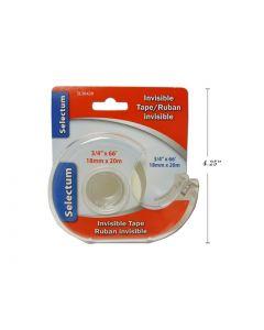 "Selectum Invisible Tape w/Cutter ~ 3/4"" x 66'"