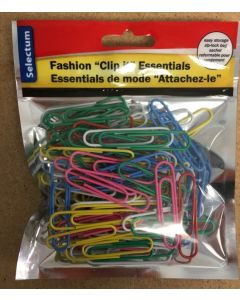 Paper Clips {50mm} - Assorted Colors ~ 80 per pack