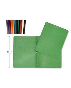 Selectum 3 Prong Report Covers - 10 Assorted Colors ~ 50 per display
