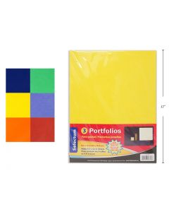 Selectum 2 Pocket Portfoilios  ~ 3 per pack