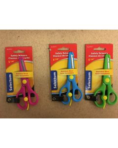 "Selectum Kid's Safety Scissors ~ 5-1/4"""