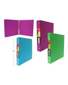 "Selectum Hard Cover Binder - Brights ~ 1"""