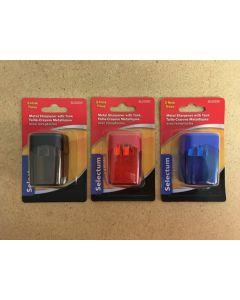 Pencil Sharpener w/2 Holes & Tank
