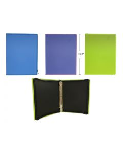 """Selectum Binder with Zippered Covered ~ 1"""""""