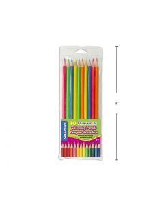 Selectum Flourescent Colored Pencils ~ 10 per pack