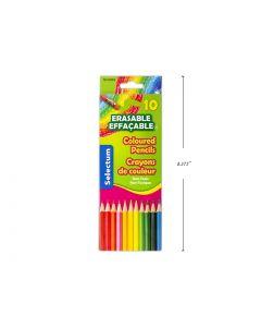 Selectum Erasable Colored Pencils ~ 10 per pack