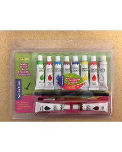 Selectum Water Color Paint Set ~ 12 pieces