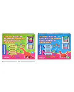 Selectum Clay Dough Sea Life / Dinosaur Activity Kit