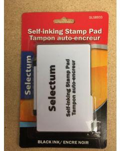 Selectum Black Ink Stamp Pad