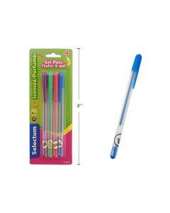 Selectum Fruit Scented Gel Pens ~ 4 per pack