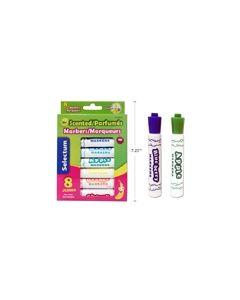 Selectum Fruit Scented Jumbo Markers ~ 8 per pack