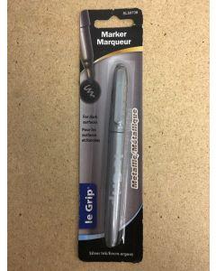 Selectum Fine Point Metallic Silver Permanent Marker ~ 1 per pack