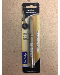 Selectum Fine Point Metallic Gold Permanent Marker ~ 1 per pack