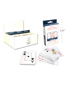 Selectum Poker Playing Cards with Giant Face