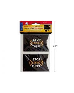 Selectum RFID Blocking Credit/Debit Card Holder ~ 2 per pack