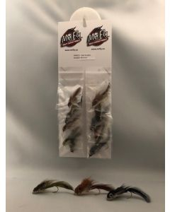 Assorted Sculpin Muddler Minnow with Eyes