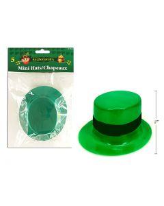 St. Patrick's Day Mini Leprechaun Hat ~ 5 per pack