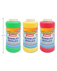 Summer Time Bubbles with Wand ~ 16oz