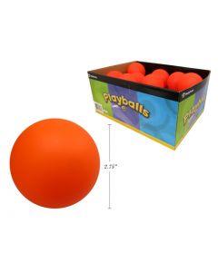 Orange Road Hockey Ball ~ 24 per display