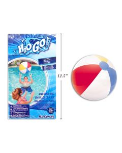 "24"" Inflatable Traditional Beach Ball ~ 6 panel"
