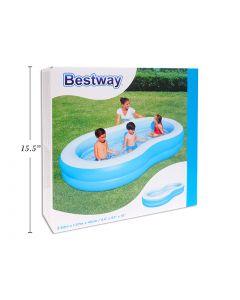 """Inflatable Big Lagoon Family Pool ~ 103"""" x 62"""" x 18"""" high"""