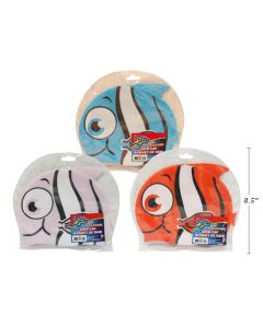 Children's Silicone Fish Swim Cap