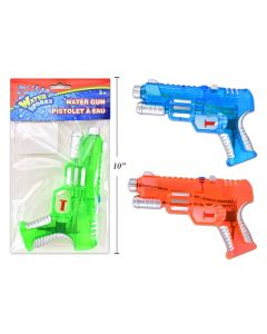 "Transparent Double Shot Watergun ~ 8"""