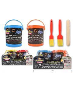 Washable Sidewalk Chalk Paint - 49gr ~ 2 per pack