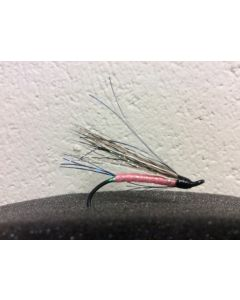 None of Your Business ~ Pink Salmon Wet Flies