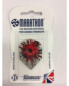 Marathon Flights ~ Red Splatter