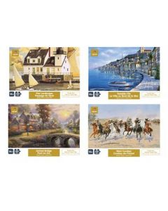 Jigsaw Puzzle - 4 assorted Landscapes ~ 300 pieces