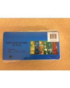 Auto Plug-In Fuse Assortment ~ 120/box