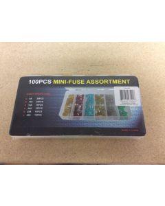 Mini Auto Fuse Assortment ~ 100/box