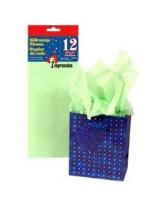 Tissue Paper - LIGHT GREEN ~ 10 per pack