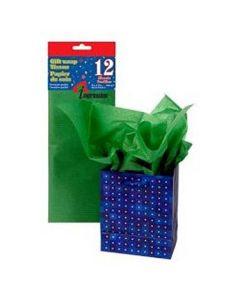 Tissue Paper - DARK GREEN ~ 10 per pack