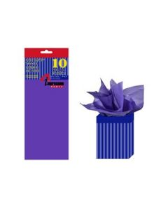 Tissue Paper - DARK PURPLE ~ 10 per pack