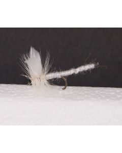 White Miller - Extended Body Trout Dry Fly