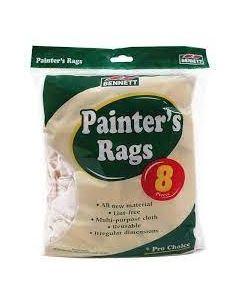 Bennett Painter's Rags ~ 8 per bag