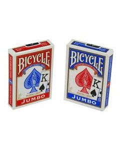 Bicycle Jumbo Index Playing Cards ~ Large Numbers