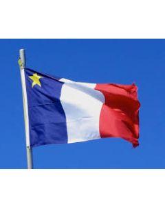 Acadian Flag ~ 3' x 5'