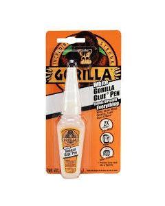 Gorilla Glue - Dries White ~ 0.75oz Glue Pen ~ Clipstrip of 8