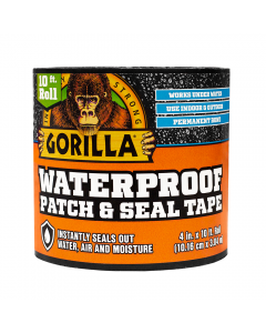 "Gorilla Waterproof Patch & Seal Tape ~ 4"" x 10'"
