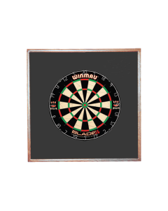 Wood Frame with Foam ~ Brown or Black Finish