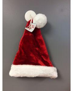 "Christmas Deluxe Plush Santa Hat ~ 17""L"